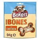 Bakers Mini Bones Chicken Dog Treats 94g (Case of 6)