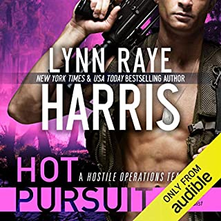 Hot Pursuit     A Hostile Operations Team Novel, Volume 1              By:                                                                                                                                 Lynn Raye Harris                               Narrated by:                                                                                                                                 Aiden Snow                      Length: 9 hrs and 56 mins     5 ratings     Overall 4.6