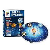 Rompecabezas 3D, DIY Satellite Assembly Toy Rompecabezas para Adultos y niños Juegos Modelo de Papel planetario Family Puzzle Home Decoration, Birthday Xmas Gifts, 146 Piezas