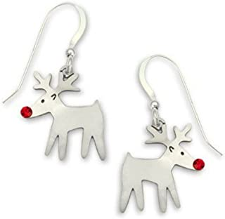 Christmas Rudolph the Red Nose Reindeer Shiny By Sienna Sky
