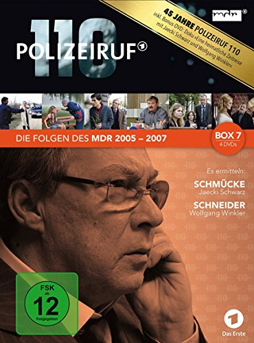 Polizeiruf 110 - MDR-Box 7 [4 DVDs]