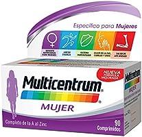 Multicentrum Mujer, Complemento Alimenticio con 13 Vitaminas y 11 Minerales, para Mujeres a partir de 18 años - 90...
