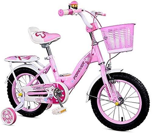 Kinderfürrad Kinderfürrad 12-Zoll-Rosa mädchen fürrad 2-3-8 Jahre alte Kinder und mädchen Bestees Geschenk Kinderfürrad