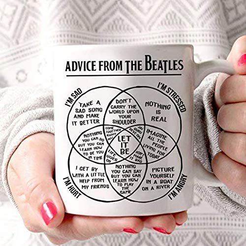 A Dvice From The Beatles Coffee Mug