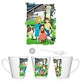 MERCHANDMANIA Taza CONICA Serie Antigua DE Heidi Anime Conic mug