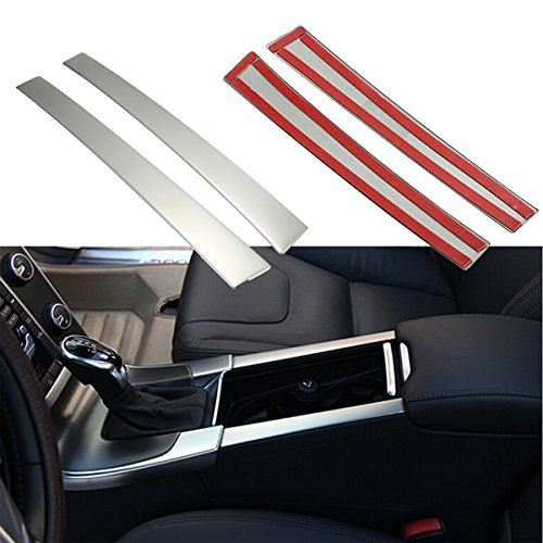 Viviance Chrome Drink Cup-Stog Holders Center Console Panel Cover Fit Für Volvo Xc60 S60 S60 V60