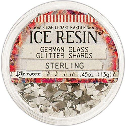 ICE Resin Sterling Glass Glitter Shards