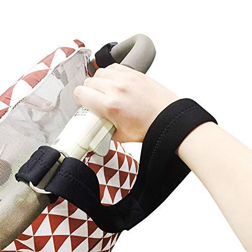 Cinghia da polso universale per passeggino, per passeggino e carrozzina, con clip di sicurezza, anti-smarrimento e antiscivolo