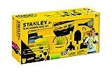 Stanley Jr. SG008-10-SY - Juego de Herramientas para niños, Color Amarillo y Negro