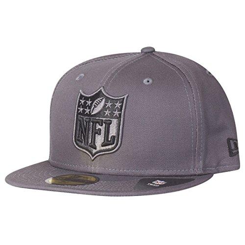 New Era 59Fifty Fitted Cap - Graphite NFL Logo grau - 7 1/4