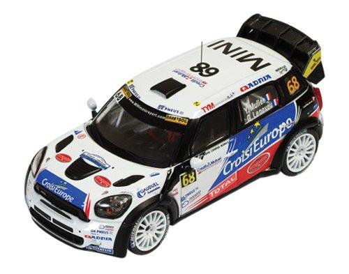 Ixo - Ram518 - Véhicule Miniature - Modèle À L'échelle - Mini Countryman Jcw WRC - Rallye De France 2012 - Echelle 1/43