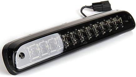 Jiayuane High Mount Stop Lights Replacement fit for 1994 95 96 97 99 2000 2001 Dodge Ram 1500 2500 3500 LED 3rd Brake Tail Light Cargo Lamp Smoke