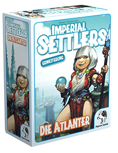 Pegasus Spiele 51964G - Imperial Settlers Die Atlanter