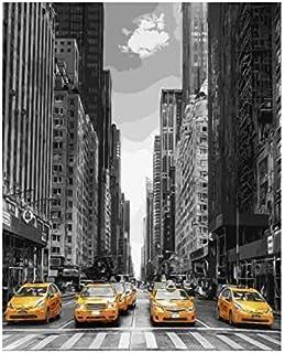 Kpdar Peinture par Num/éros Kits Femme Japonaise Peinture /à lhuile de Bricolage num/érique pour Enfants Adultes Toile avec brosses Acryliques Home Decor 40X50Cm//15.80X 19.70 Pouce(sans Cadre)