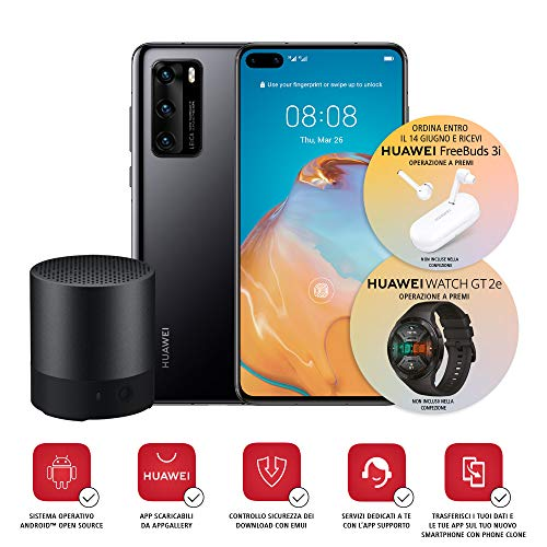 Huawei P40 con Bluetooth Speaker, Acoustic Display da 6.1',...