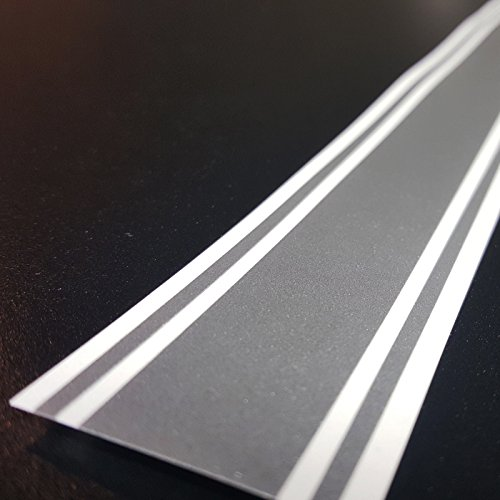 ORACAL 3'x72' Vinyl Racing Stripe Decal 651 (Metallic Silver - PMS 877C)