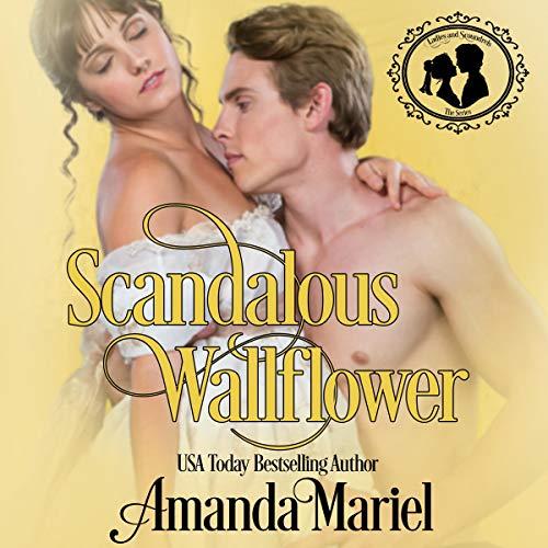 Scandalous Wallflower audiobook cover art
