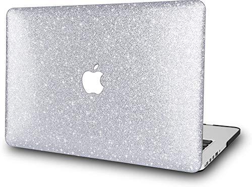 Shining Silver Pattern - Carcasa rígida para MacBook Air de 13 pulgadas, modelo Retina: A2179 A1932 (2020-2018, Touch ID), carcasa de plástico duro RQTX– (plata brillante)