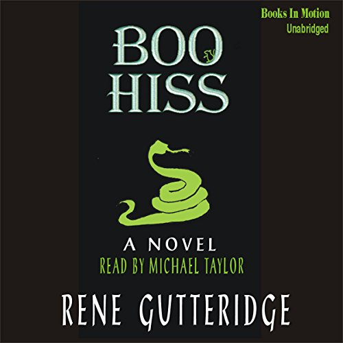 Boo Hiss audiobook cover art