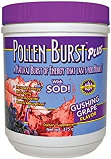 3 Pack Pollen Burst Plus Gushing Grape Energy Drink By Youngevity (Ships Worldwide)