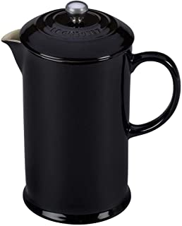 Le Creuset Unisex French Press Black French Press