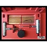 Kit reparacion de pinchazos para neumaticos. Estuche repara pinchazos. Herramientas para reparar pinchazos en neumaticos.