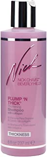Nick Chavez Beverly Hills Plump 'N Thick Leave-In Thickening Shampoo With Collagen - Hair Thickening Shampoo For All Hair Types - 8 Fl Oz