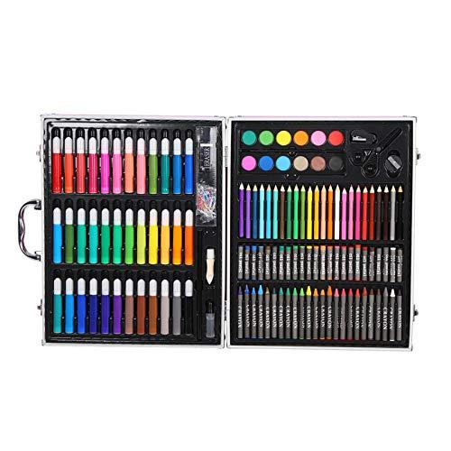 DERCLIVE Juego de 150 lápices de acuarela, para dibujar, regalo para niños