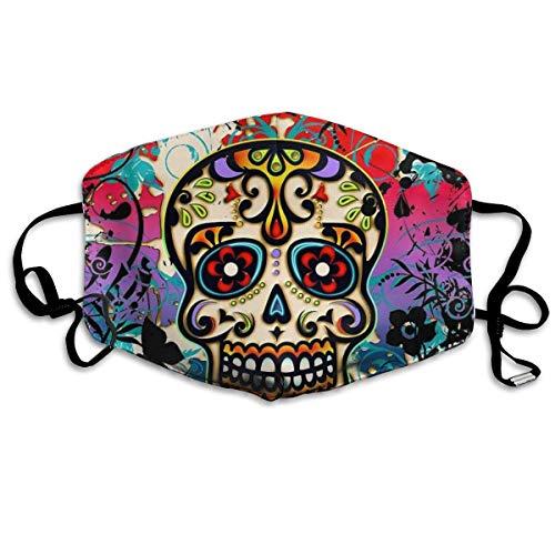 TABUEL Decoraciones faciales mexicanas con Calaveras de azúcar para...