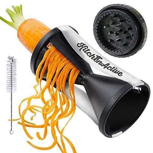 Spiralizer By Palermo Voted the Best Vegetable Maker,Spiral Slicer Peeler