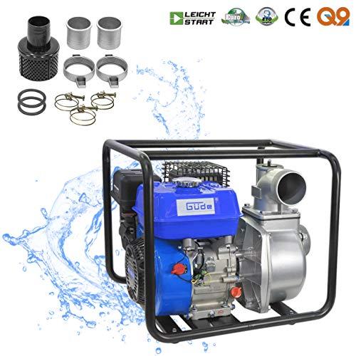 Güde benzinemotorpomp | tuinpomp | waterpomp | GMP 50.25 | vuilwaterpomp | 5 PS | benzinetwaterpomp | 55000 liter/h | 25 meter opvoerhoogte | 8 meter aanzuighoogte | 3 inch