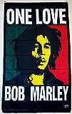 Bob Marley One Love Vertikale 3'x 5' Rasta Farbe Banner