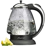 Capresso 259 Water Kettle, 10' x 8.25' x 6.25', Polished Chrome