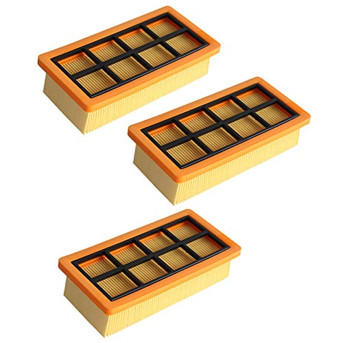 Kuinayouyi Reemplazo de Filtro Hepa para Karcher AD3.200 Accesorios para Filtro de Limpieza de Polvo Pieza de Filtro para Aspiradora