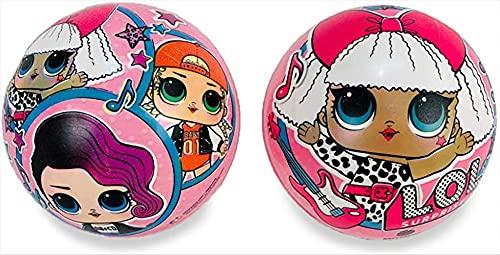 OFFICIAL PRODUCT Ball-Pelota 140 cm LOL Bio-para Niño/Niño-Multicolor-BioBall - Multicolor, Talla 2