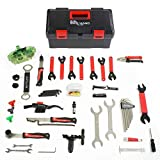 7. Bikehand 37pcs Bike Bicycle Repair Tool Kit with Torque Wrench - Quality Tools Kit Set for Mountain Bike Road Bike Maintenance in a Neat Storage Case