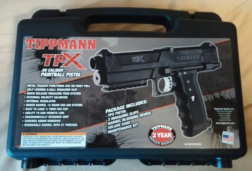 Tippmann TPX Paintball Pistol Starter Kit