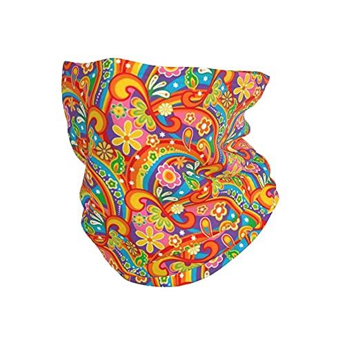 best& Psicodélico Flower Power Invierno Sobrenatural Diadema Máscara Cara Bandana Cabeza Envoltura Bufanda Cuello Calentador Sombreros Pasamontañas Para Deportes