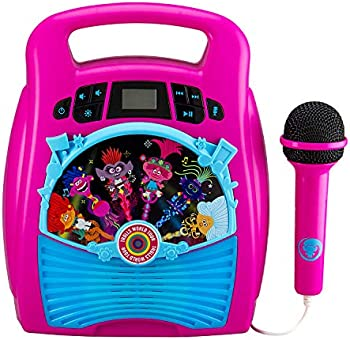 DreamWorks Trolls Bluetooth MP3 Karoake with Microphone