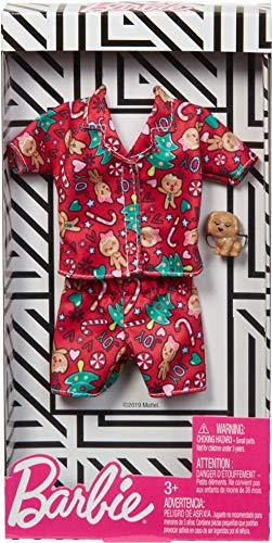Barbie Pijama Navidad   Mattel GGG49   Moda Ropa de la Muñeca