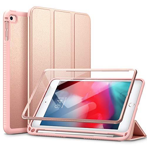 SURITCH – Capa para iPad Mini 4/iPad Mini 5, película integrada, função hibernar/despertar automática, suporte para caneta, capa flip de couro leve com suporte para iPad Mini 4/Mini 5 de 7,9 polegadas