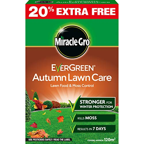 Miracle-Gro 119698 EverGreen Autumn Lawn Care 4.2kg - 120m2, Brown