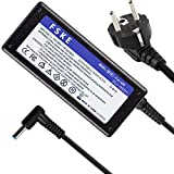 FSKE 19,5V 2,31A 45W Cargador para Portátil HP 11 14 15 250 G5 G6 G7 Pavilion 15 17 X360 ProBook 430 450 G3 G5 EliteBook 830 840 G3 G5 Envy X360 Ordenador etc, Fuente de Alimentación Tip:4,5 * 3,0mm