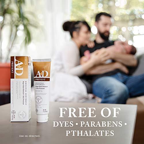 A+D Original Diaper Ointment, 4 Ounce (Pack of 4)