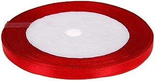 PULABO Ruban en organza solide de 25 m pour bricolage Accessoires de cheveux Scrapbooking Emballage cadeau d'emballage d'a...