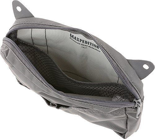 Maxpedition HLP Hook & Loop Pouch Tasche, Grau, 1 SZ