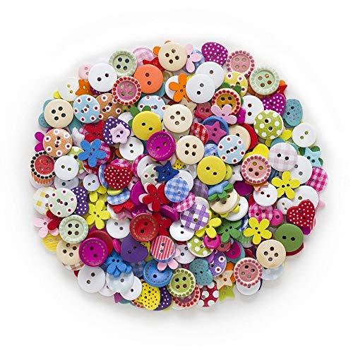 150PCS mezclaron los botones de resina, botones de colores mezclados y tamaños, los botones for manualidades, usado en artes de DIY botones de costura de ropa Decoración, Pintura hecha a mano del botó