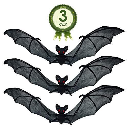 dark Bats over full moon decoration flying bats halloween ornament vampire bat black bats halloween bat dark bat ornament spooky