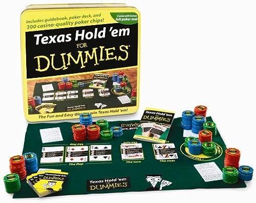 ganancia cero Texas Hold'em Hold'em Hold'em For Dummies Tin by Fundex  toma