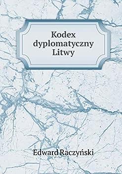 Paperback Kodex Dyplomatyczny Litwy [Polish] Book